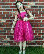 Creepy Doll Homemade Costume