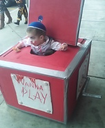 Creepy Jack-in-the-Box Homemade Costume
