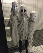 Creepy Moving Ghosts Homemade Costume