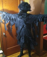 Creepy Old Crow Homemade Costume