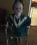 Creepy Old Lady Homemade Costume