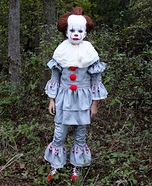 Creepy Pennywise Homemade Costume