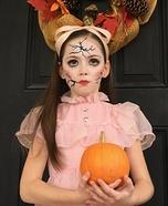 Creepy Porcelain Doll Homemade Costume