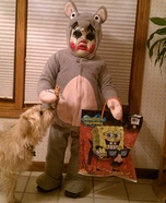 Creepy Toddler Mouse Costume