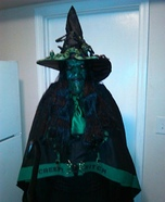 Creepy Witch Homemade Costume