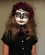Creepy Zombie Skeleton Homemade Costume