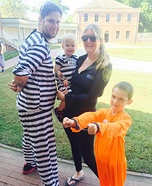 Criminals Family Homemade Costume