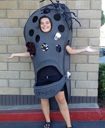 Homemade Croc Shoe Costume
