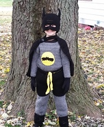 Crochet Batman Homemade Costume