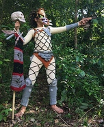 Crocheted Predator Homemade Costume