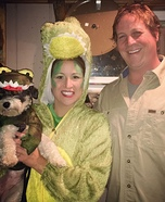 Crocodile Hunter Family Homemade Costume