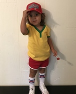 Cross Country Forrest Gump Homemade Costume