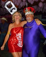 Crown and Coke Homemade Costumes