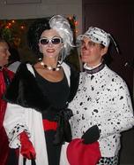 Homemade Cruella Deville Costumes