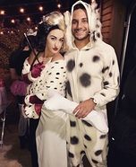 Cruella and her next Fur Coat Homemade Costume