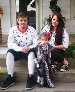 Cruella and Pups Homemade Costume