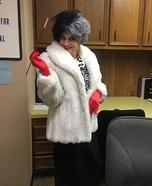 Cruella De Vill Homemade Costume
