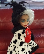 Cruella DeVil Homemade Costume