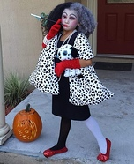 Cruella Deville Homemade Costume