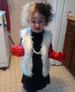 Cruella DeVille Girl's Costume