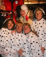 Cruella Loves Her Puppies Homemade Costume