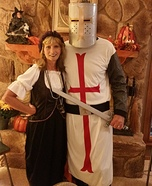Crusader and Server of the Ale Homemade Costume