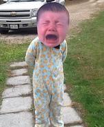 Cry Baby Homemade Costume