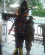 Cuckoo Bird Homemade Costume