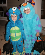 Cuddle Monster Costume