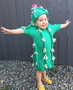 Cuddly Cactus Homemade Costume