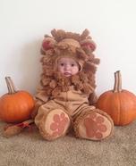 Cuddly Lion Baby Costume