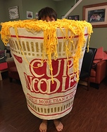 Cup Noodles Homemade Costume