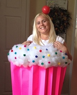 Creative DIY Costume Ideas for Women - Cupcake Cutie Costume