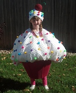 Cupcake Cutie Homemade Costume