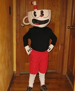 CupHead Homemade Costume