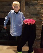 Cut in Half Boy Homemade Costume
