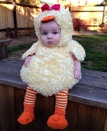 Baby Duck Homemade Costume