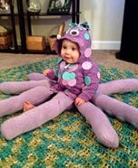 Baby Octopus Homemade Costume