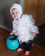 Cute Baby Chicken Homemade Costume