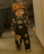 Cute Baby Scarecrow Homemade Costume