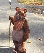 Cute Ewok Homemade Costume
