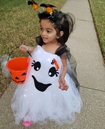 Cute Ghost Homemade Costume