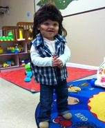 Cute Joe Dirt Homemade Costume
