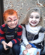 Chucky and the Bride of Chucky Kids Costumes