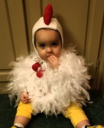 Cute Little Chicken Homemade Costume