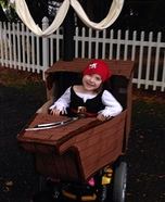 Cute Little Pirate Homemade Costume