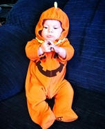 Cute Little Pumpkin Homemade Costume