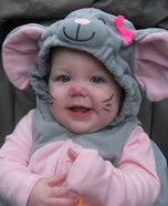 Cute Mouse Homemade Costume