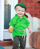 Cute Peter Pan Homemade Costume