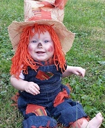 Cute Scarecrow Baby Costume
